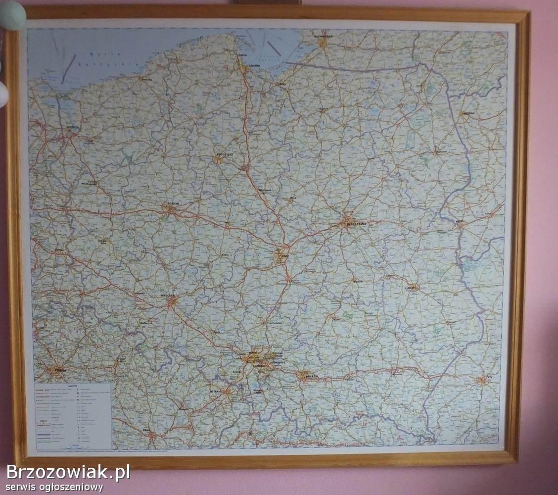 Mapa Polski Krosno Brzozowiak Pl